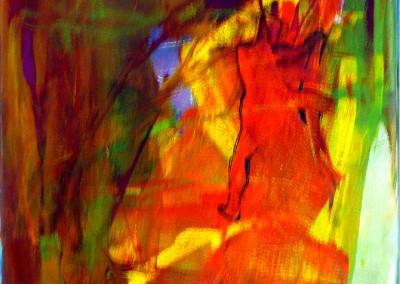 2-Mouvement 08  Le toucher,  16x12po