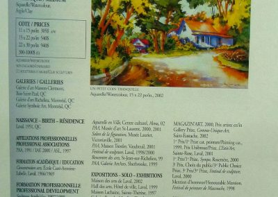 6-2004  RÉPERTOIRE Magazinn-Art