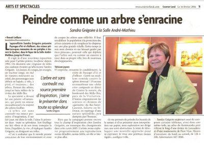 8-2006 PAYSAGE D`ICI ET D`AILLEURS Hotel de ville de Laval