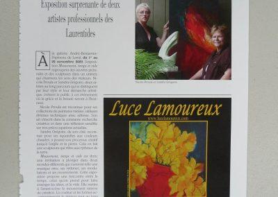 9-2009-2011 MOUVEMENT, TEMPS ET VIDE, Laval et Ste-Thérèse
