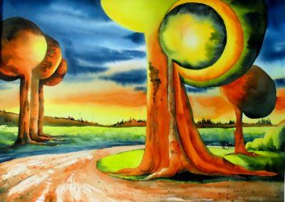 D`un arbre à l`autre I (22x30po)