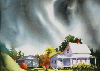 Un vent d`orage(22x15po)